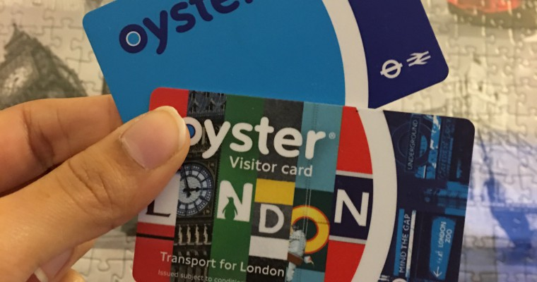 Die OysterCard – von A nach B durch London